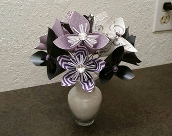 Paper Flowers - Origami Flowers - Gift - Birthday - Mother's Day