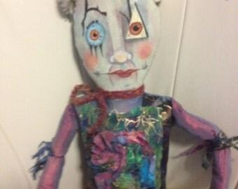 Jester - Little Monster Doll