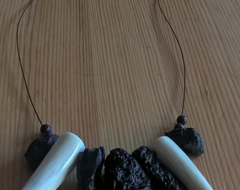 Mens Caveman Style Necklace