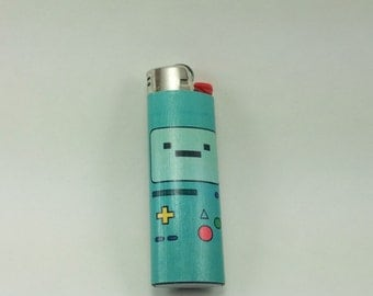 Custom Adventure Time BMO Lighter