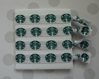 Starbucks Elastic Hair Ties