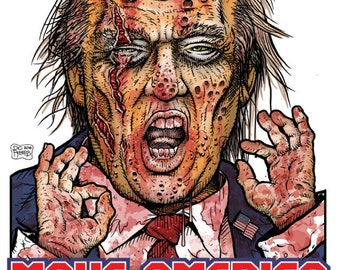 Zombie TRUMP T-Shirt - Now ON SALE!