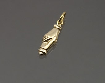 Fede pendant in 9ct gold