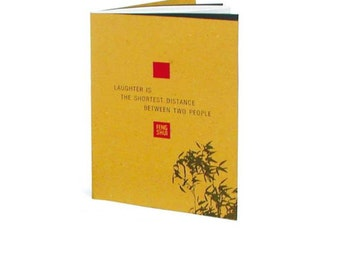 Feng Shui notebook made from recycled paper Notebooks A5 size with ruled pages