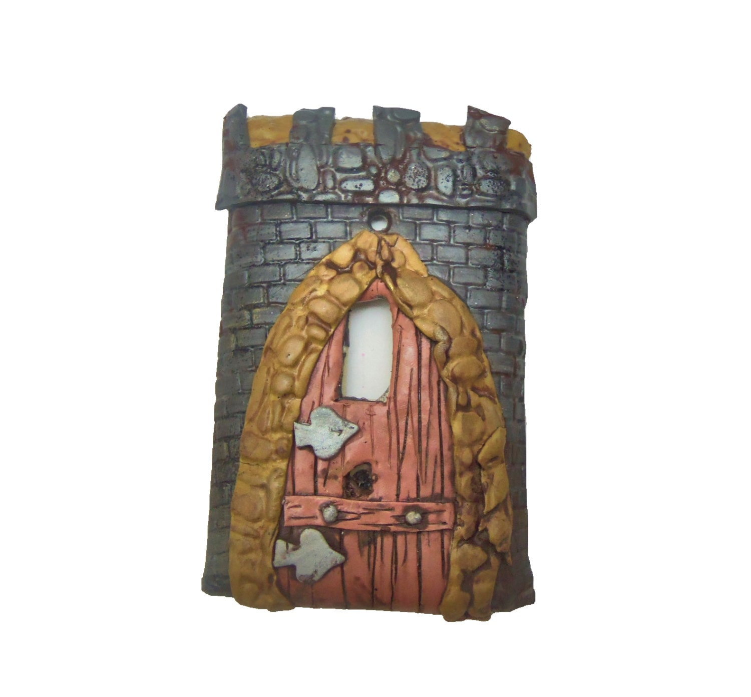 Castle home decor decorative switch plate cover medieval for Medieval decorations home