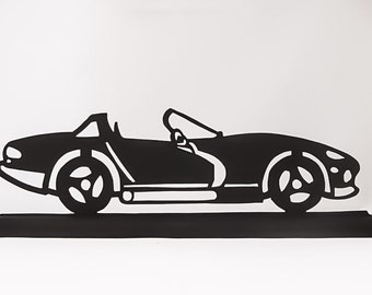 1992 Dodge Viper  Handmade Wood Display Silhouette Decoration  stra007