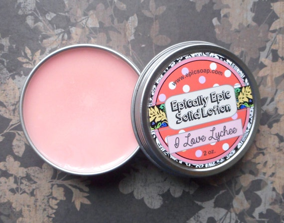 I Love Lychee Many Purpose Solid Lotion