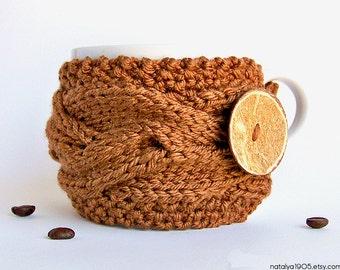 Coffee Mug Cozy, Gifts Under 20, Coffee Cozy, Tea Cozy, Coffee Cup Cozy, Coffee Mug Sleeve, Coffee Cup Sleeve, Coffee Sleeve, Coffee Gifts