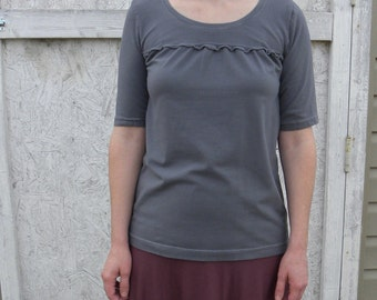 Edom Organic Cotton Jersey Knit Shirt  Made in the USA - Organic Cotton Clothing