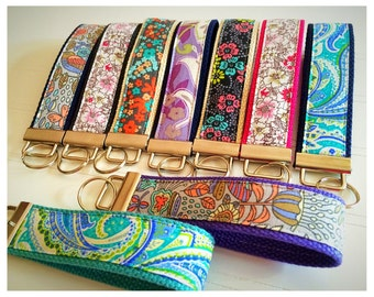 Key Fob, Wristlet Key Fob, Mini Key Fob, Keychain - Choose your design and size [72-80]