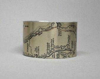 Cuff Bracelet Grand Canyon National Park Arizona Colorado River Unique Gift for Men or Women
