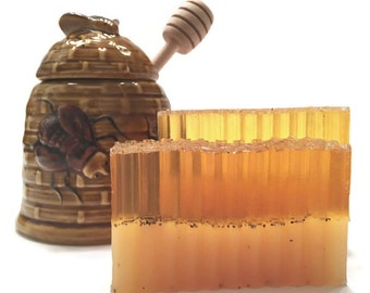 Honey Patchouli Soap - Honey Soap - Patchouli Soap - Gift for Him & Her - Handmade Soap