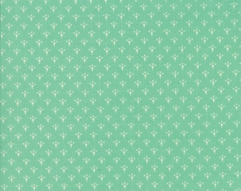 Chestnut Street by Fig Tree Quilts,20277 13 Blueberry Moda Fabrics, Aqua/Teal with Sm Design