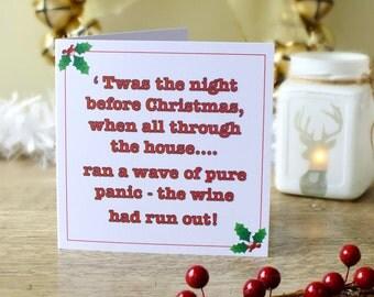 Handmade Personalised Christmas Card Holidays By Cardsbygaynor