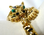 Tiger Articulated Bracelet, Leopard, Big Cat, Lion, Panther, Excellent