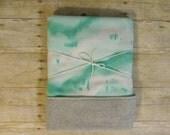 Mint Baby Blanket Fleece | Watercolor | Marble | Tie Dye | Chevron |