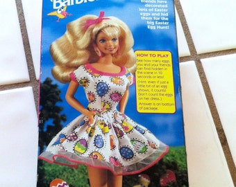 """Vintage 90's """"MATTEL"""" Easter Fun Barbie - Special Limited Edition NOS"""