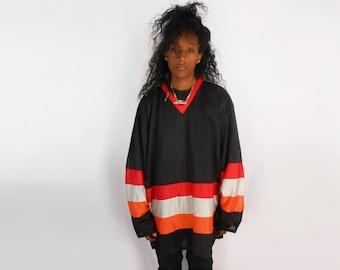 Mesh Jersey/ Health Goth/ 90s Club Kid/ Mesh Shirt/ Jersey Shirt/ See Through Shirt/ Mesh Top/ Normcore/ See Through Top/ Sporty/ Hockey