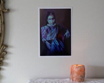 """In Limbo • 11x14"""" digital print by Amalia Kouvalis"""