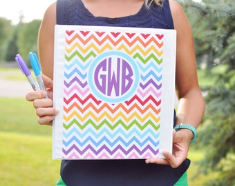 Binder Cover Printables - Rainbow Binder Covers - Teacher Binder Covers
