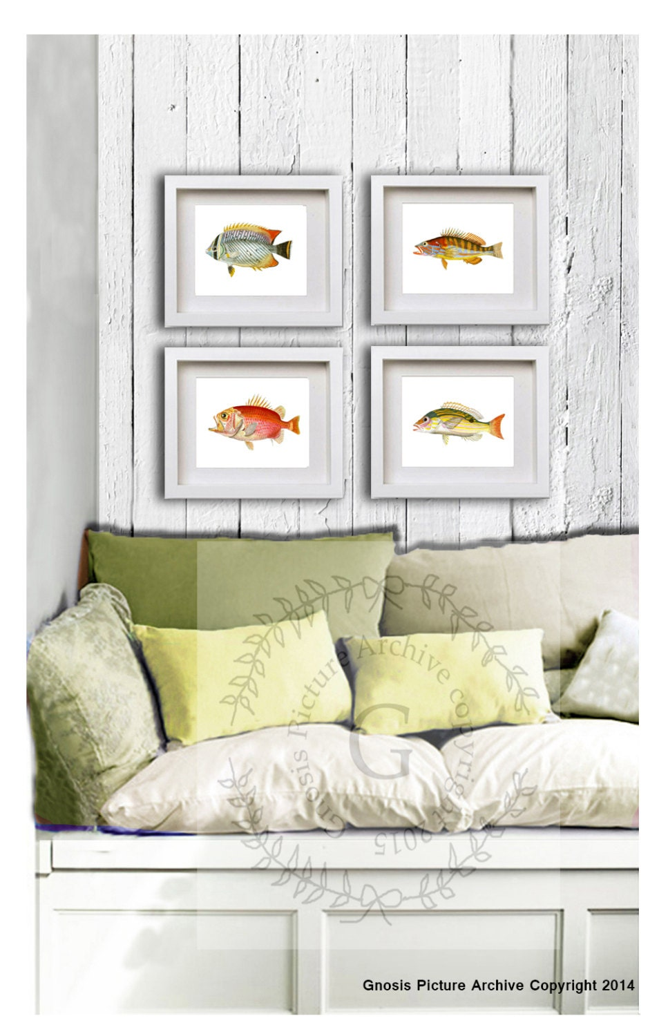 Back to school fisheries student gift fish decor for bathroom for Bathroom fish decor
