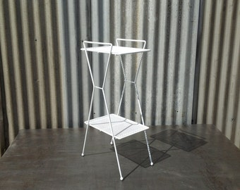 Rotary Phone Stand - Mid Century Modern, Side Table, Bathroom Stand