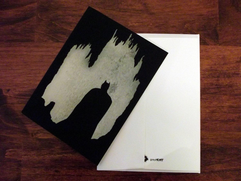 Batman Card Batman Invitation Thank You Card Birthday Card – Batman Birthday Cards