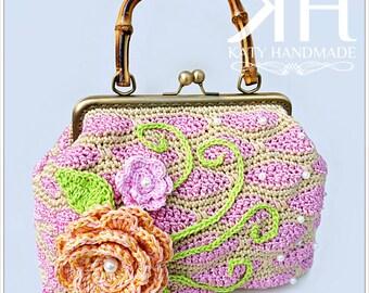 """Pattern crochet bag """"Dahila"""""""