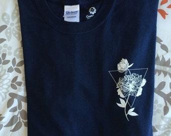 Flower Abstract T-shirt