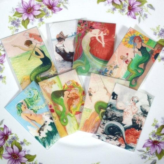 Edible Mermaids Goddess Wafers Rice Paper X16 Summer