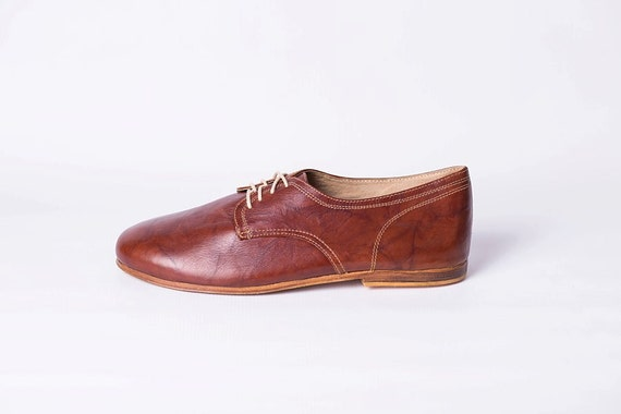 mens leather shoes with leather soles rugged brown by