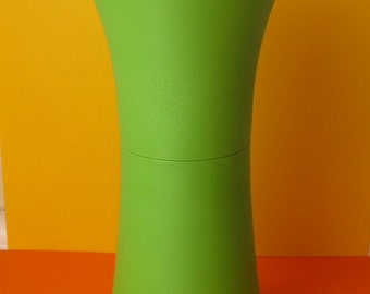 RETRO Tupperware Oil or Vinegar Bottle Lime Green  70's Excellent Condition