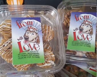 "Gourmet Dog Treats - ""Hound's Hamantaschen"" - Dog Treats"