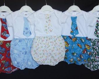 Baby Boys Bodysuit and Pants Set