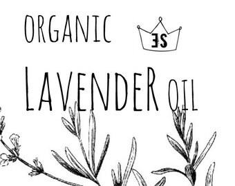 Organic Lavender Essential Oil | Lavender Oil | Pure Lavender Essential Oil | Organic Essential Oil | Organic Aromatherapy