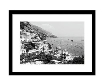 Framed Italy Photography Black and White Italy Photography Framed Italy Art Horizontal Wall Art 8x10 11x14 Large Wall Art 20x30 24x36 30x40
