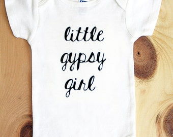 Little Gypsy Girl Onesie
