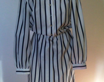 Schrader Sport 70s striped dress.