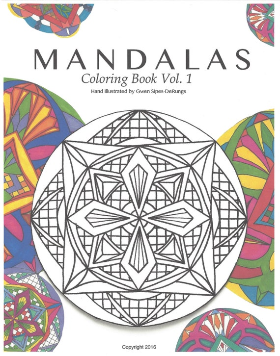 Mandalas Coloring Book Vol 1