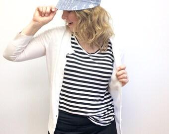 Women's Reversible Visor, Sun Hat for Women, Women's Adjustable Visor, Sun Visor, Beach Sun Hat, Visor for Women, Women's Reversible Sun Hat