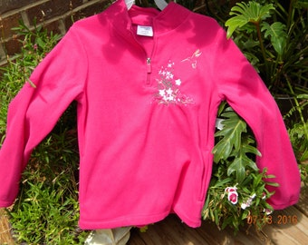 Girls size 10-12 embroidered jacket