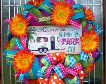 Camper Wreath