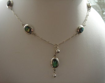 925 Y - necklace with a shell!