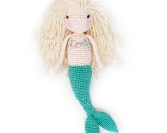 Ready to Ship Full Sized Crochet Mermaid