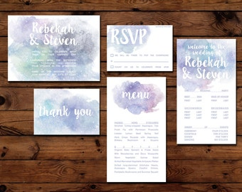 Printable - Cosmic Wedding Suite