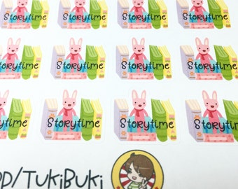 Storytime Planner Stickers