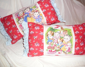 Going for a picnic children's pillows