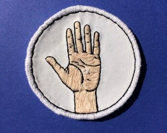Pills Embroidered Patch