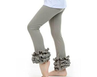 Pencil ruffle pant boutique style pants