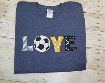 Love Soccer/Soccer Mom/Love Soccer Raglan